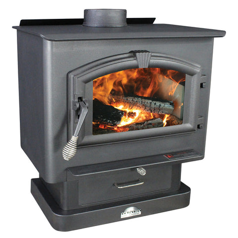 US Stove 2000 Medium Epa Certified Wood Stove - Iron Wood Supply