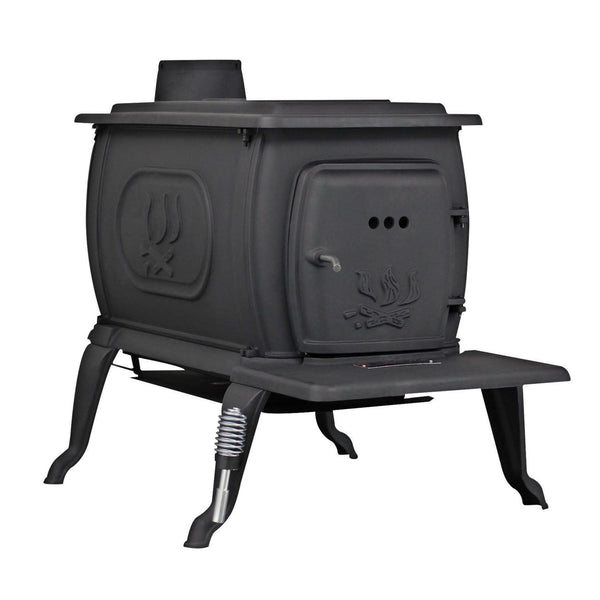 US Stove Large Logwood Cast Iron Wood Stove 2469E - Iron Wood Supply