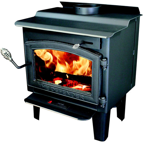 Vogelzang TR001 Defender EPA Wood Stove - Iron Wood Supply