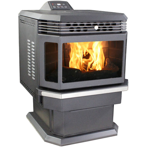 US Stove 5660 Bay Front Pellet Stove - Iron Wood Supply