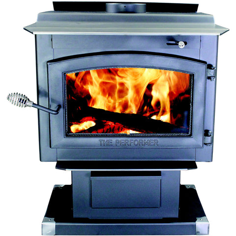 Vogelzang TR009 Performer Wood stove with blower - Iron Wood Supply