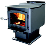 Vogelzang TR007 Ponderosa Wood stove with Blower - Iron Wood Supply