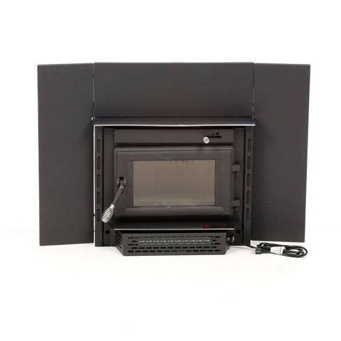 US Stove 2200iE Medium Epa Certified Wood-Burning Fireplace Insert - Iron Wood Supply