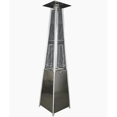 SS Square Patio Heater LP - Iron Wood Supply