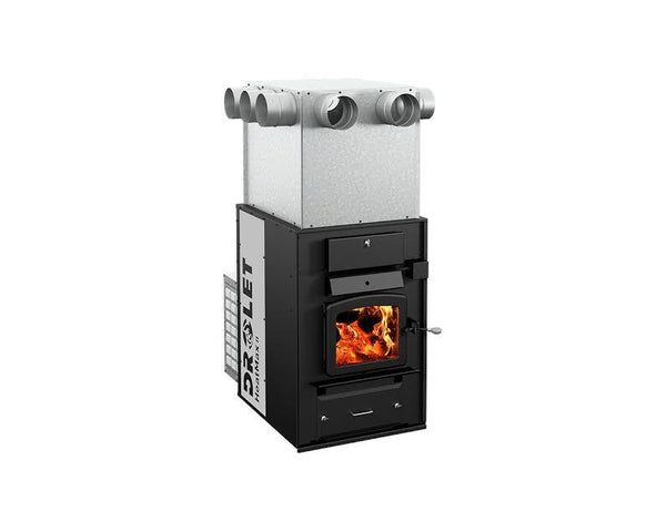 Drolet Indoor Wood Furnace - Heatmax II DF01001 - Iron Wood Supply
