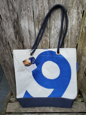By the Bay Creations Retired Sailcloth Market Tote - Numbered - Various Colors