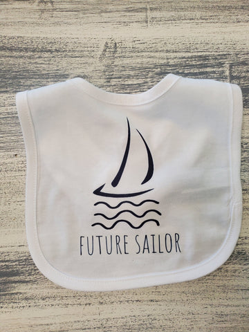 By The Bay Future Sailor Bib