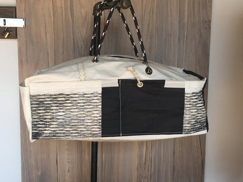 Duffel Bag made with Retired Sails.
