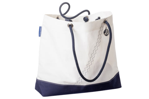 By the Bay Creations Retired Sailcloth Beach Tote - Classic