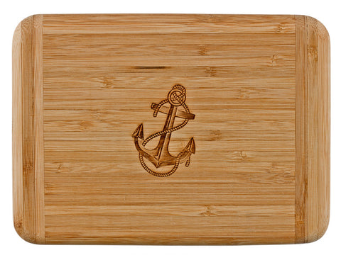 Laser Engraved Bar Board-Anchor