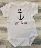 By The Bay Future Sailor Onesie