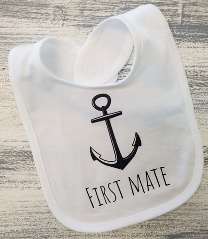 By The Bay First Mate Bib