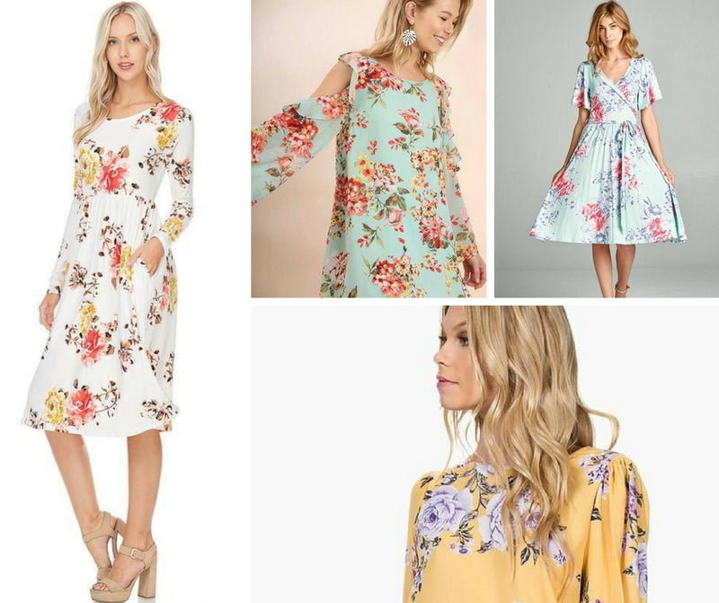 Fashion Report | Florals Everywhere