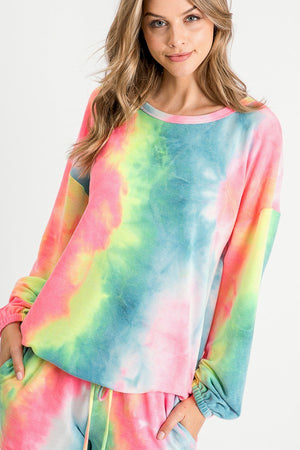 Tie Dye Sweat Shirt