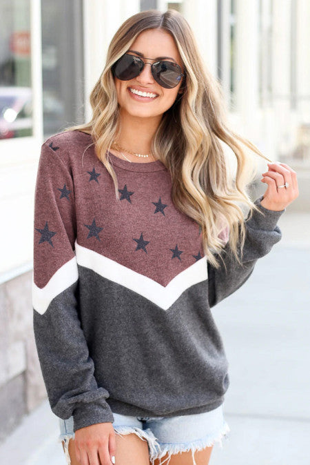Cozy Star Pullover