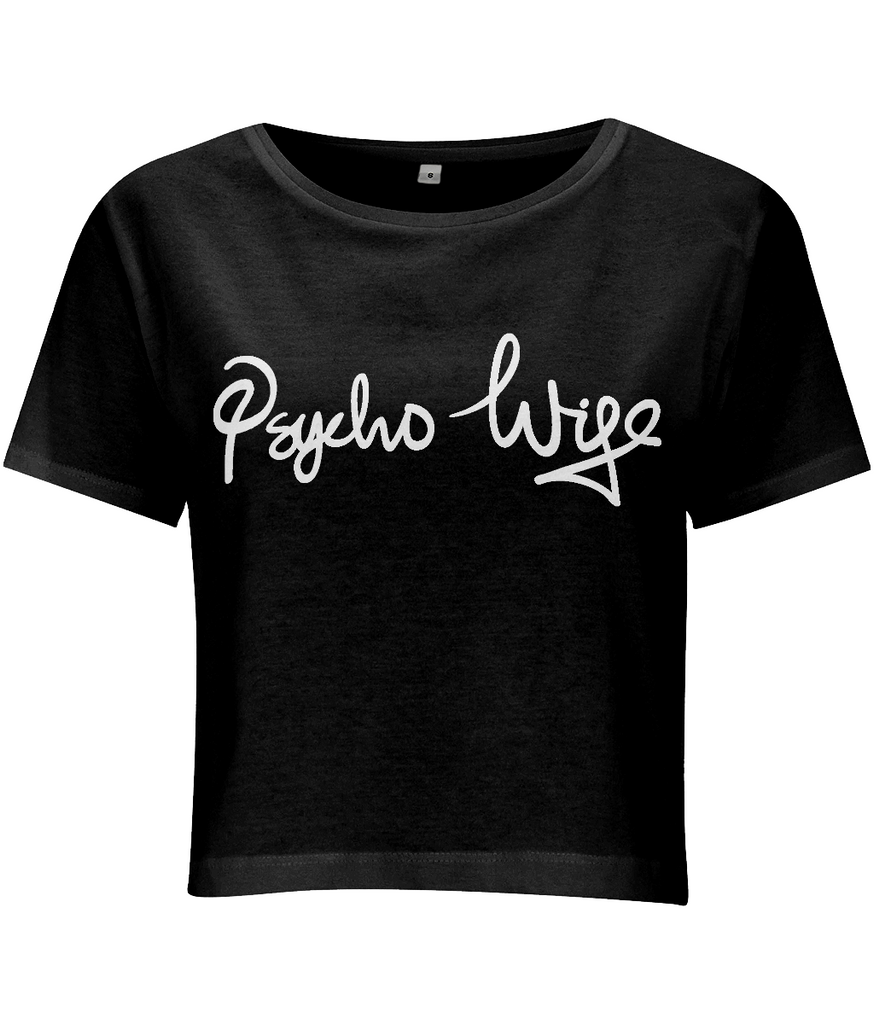 Psycho Wife Crop Top