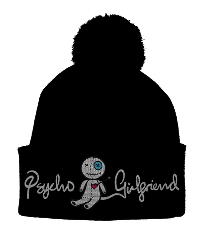 Psycho Girlfriend Pom Pom Beanie