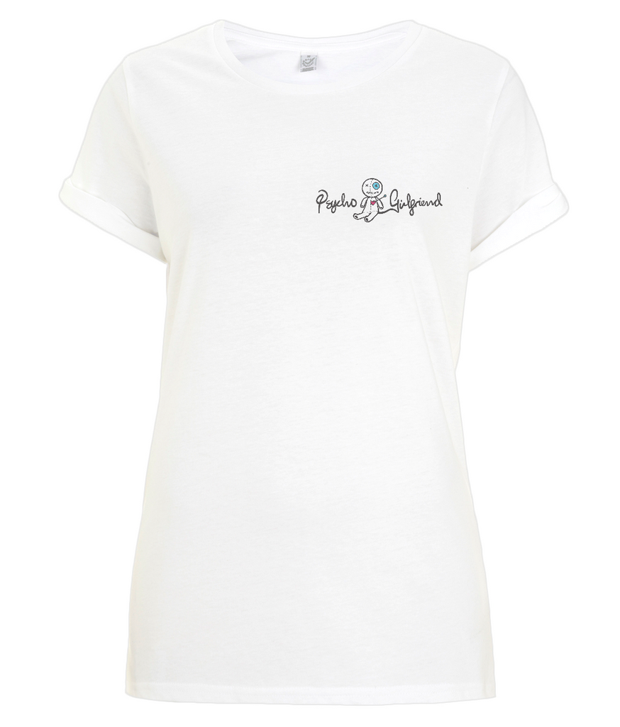 Psycho Girlfriend Rolled Sleeve T-Shirt