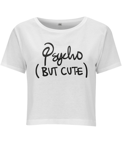 Psycho But Cute Crop Top