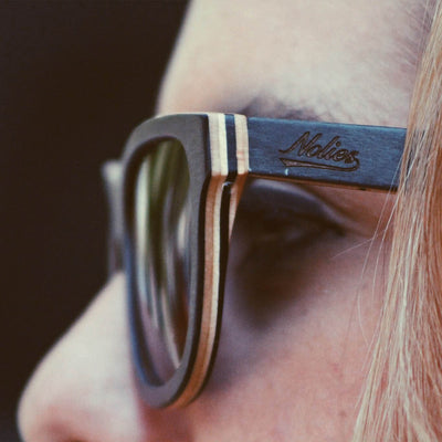 California Black Maple Skateboard Sunglasses