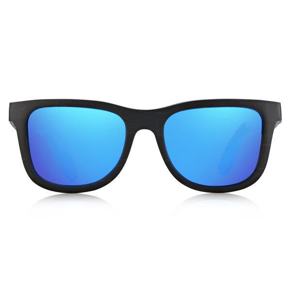 1e8831f49161 California Black n  Blue skateboard sunglasses - Nolies Woodwear