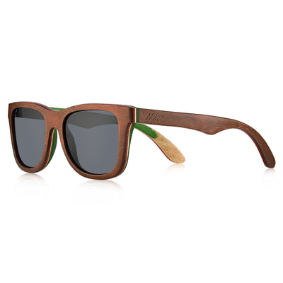 California Rasta skateboard sunglasses