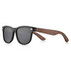 Acetate walnut sunglasses