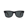 Nolies wood frame skateboard sunglasses Black maple bamboo 2