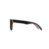 Nolies wood frame skateboard sunglasses black maple bamboo 3