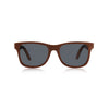 Nolies wood frame skateboard sunglasses brown maple bamboo 2