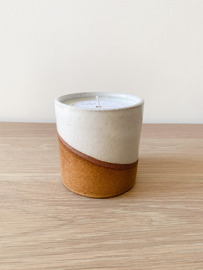 Uzumati Ceramic Desert Bloom Candle