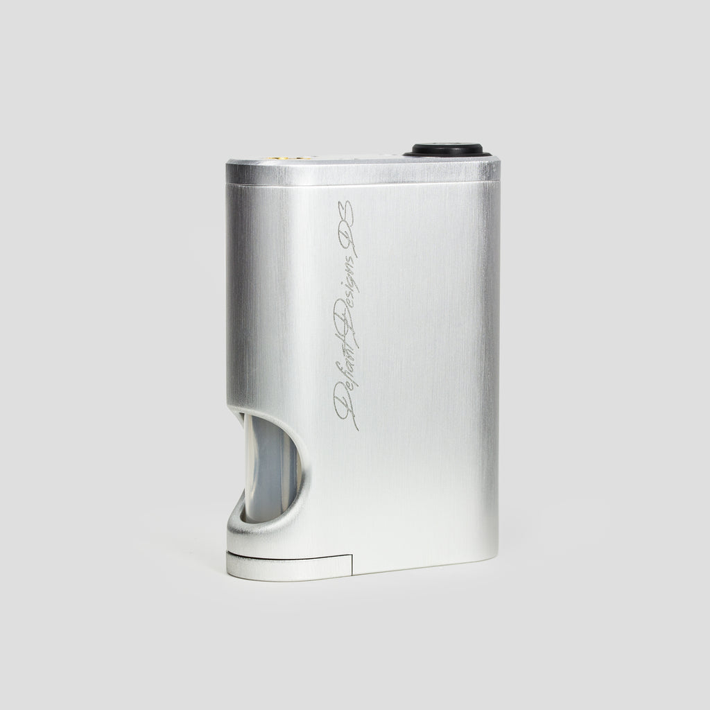 Defiant Designs DS Mechanical Squonk Mod ~ Includes Silver Conversion Kit