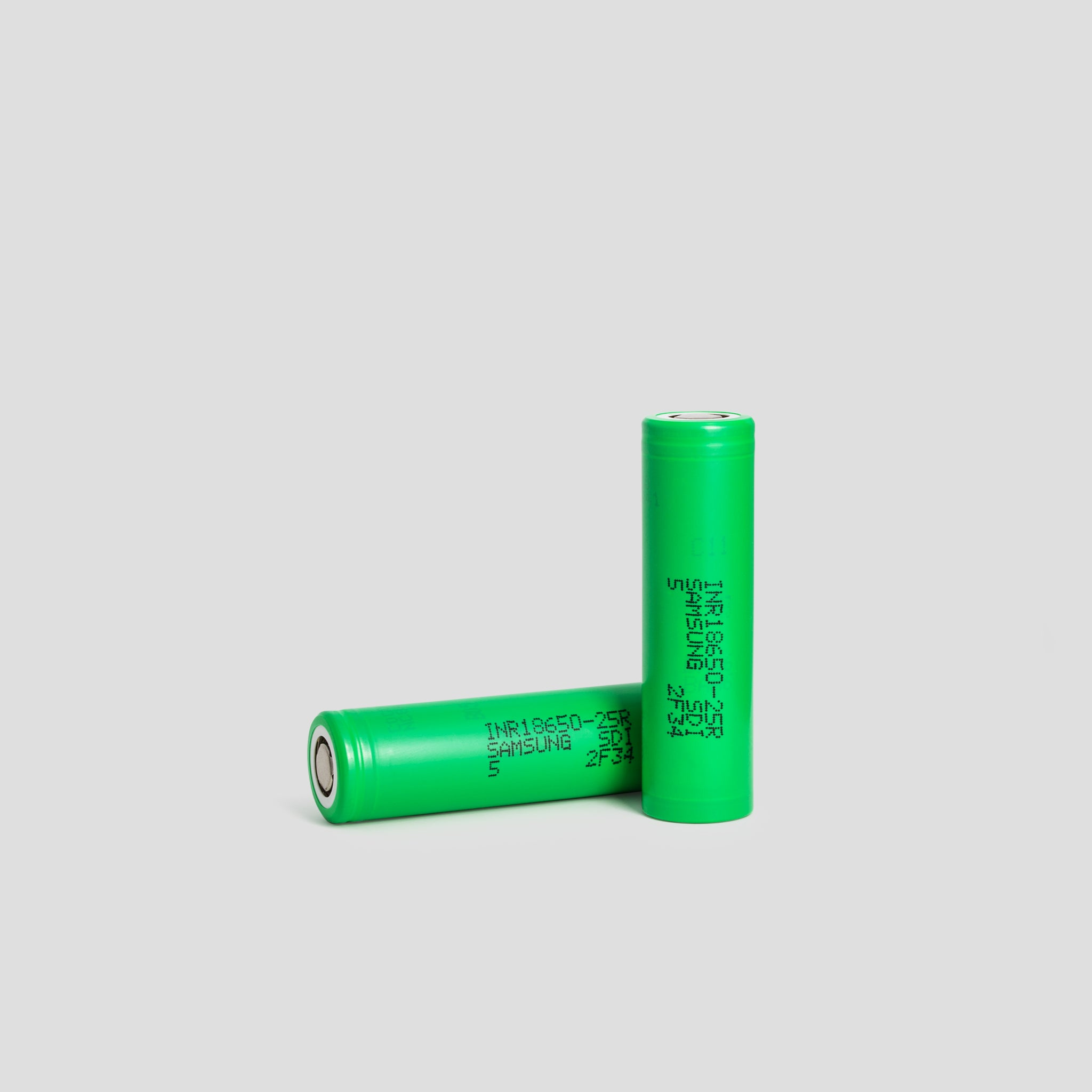 Samsung 25R 18650 2500mAh 20A Flat Top Battery