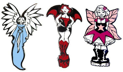 Devil's Panties Pin Collection