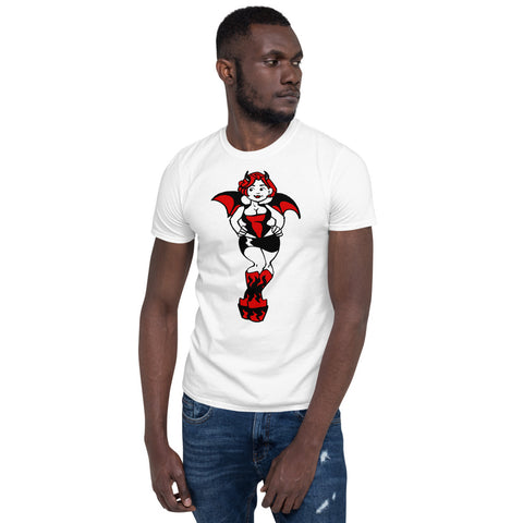Devil Girl Curves Short-Sleeve Unisex T-Shirt