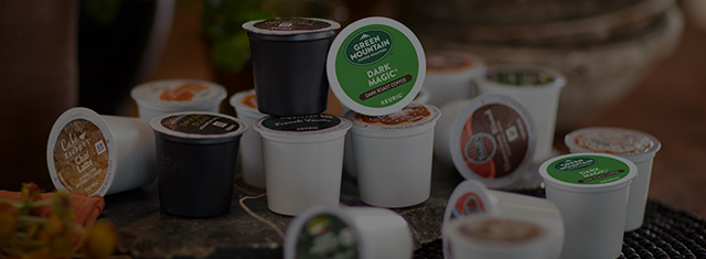 K Cup Pods Banner