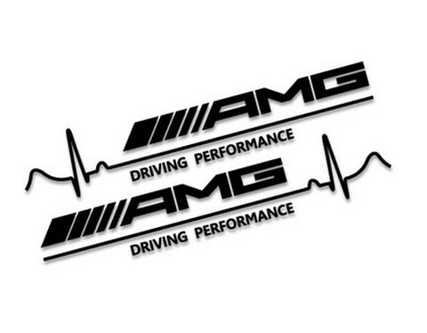 Mercedes Benz Amg Driving Performance Decal 2x