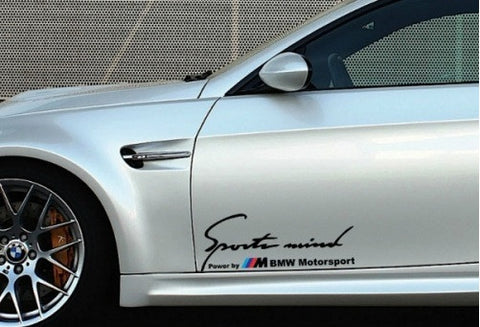 Sports Mind Power by ///M BMW Motorsport (2x) - Ohana Graphix