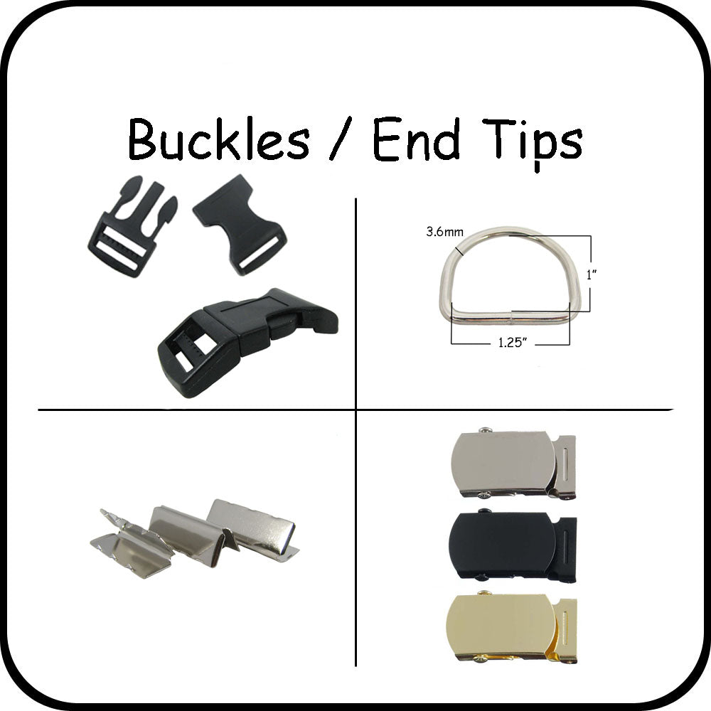 Buckles / End Tips