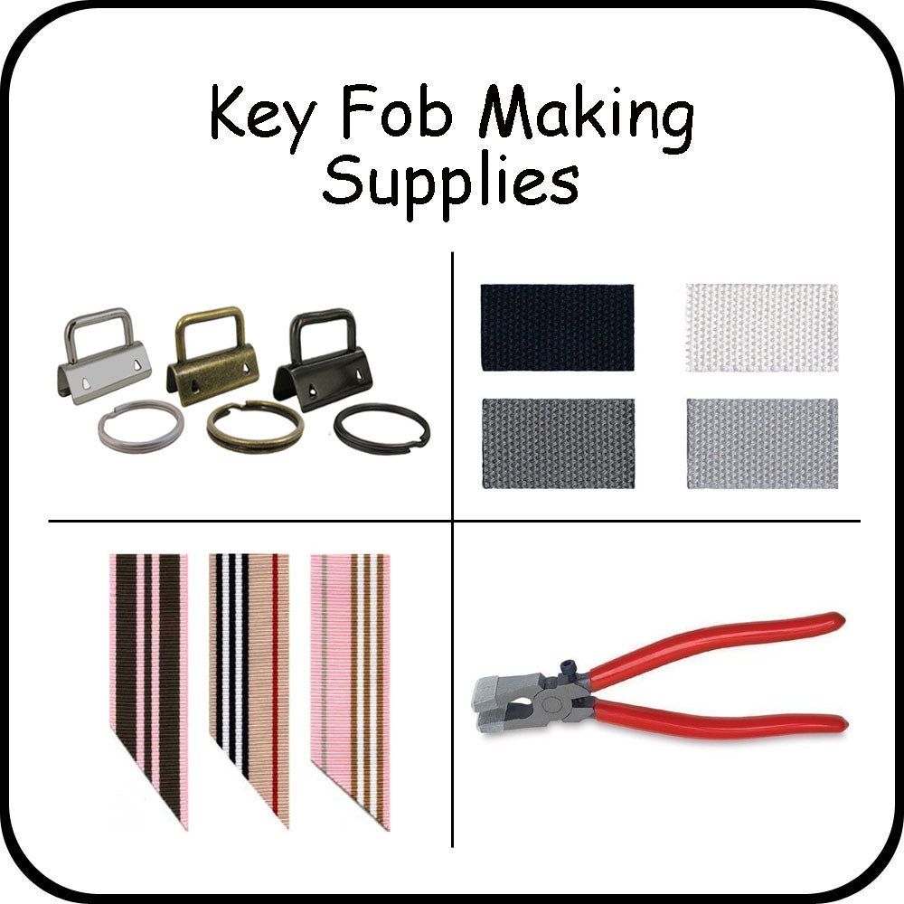 Key Fob Making Supplies