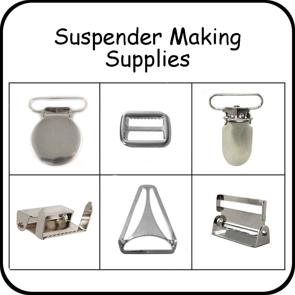 Suspender Making Supplies