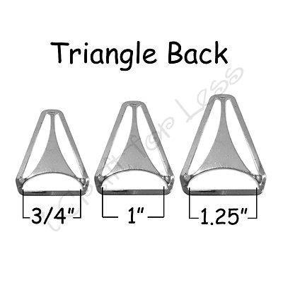 Triangle Back / Suspender Slide Adjusters