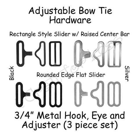 Adjustable Bow Tie Hardware