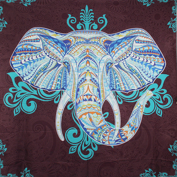 Tapestry | Elephant Turquoise