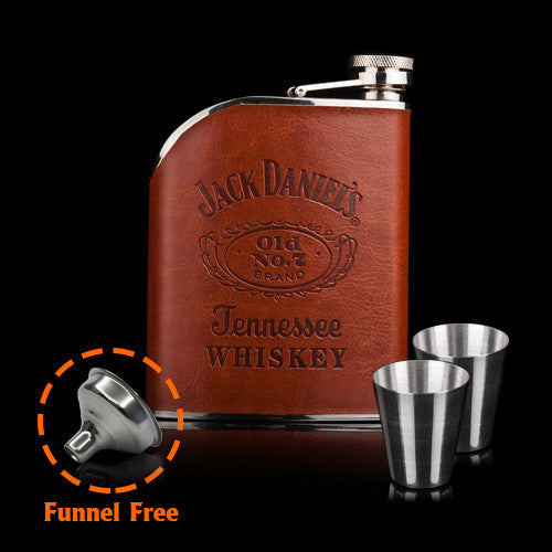 6oz Tennessee Whiskey | Steel Flask