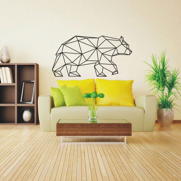 Removable Wall Sticker | Geometric Bear