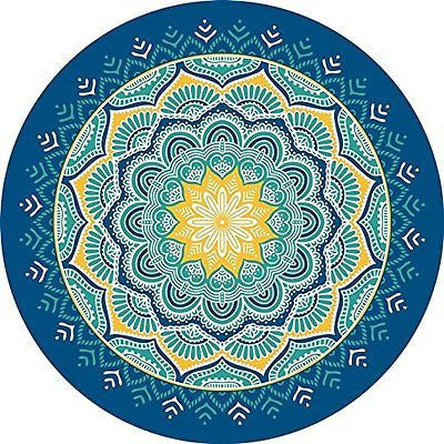 Indian Mandala Bloom Tapestry
