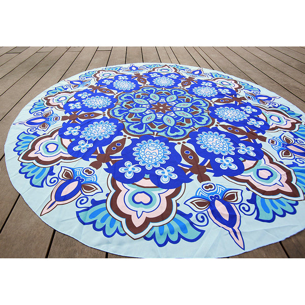Natural Oceans Hypnosis Tapestry