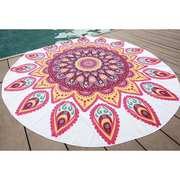 Natural Radiant Hypnosis Tapestry