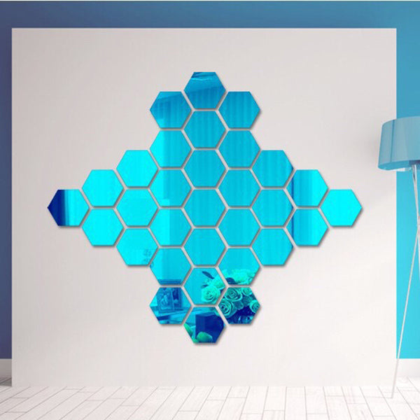 Hex Mirror | Rearrangeable - Removable